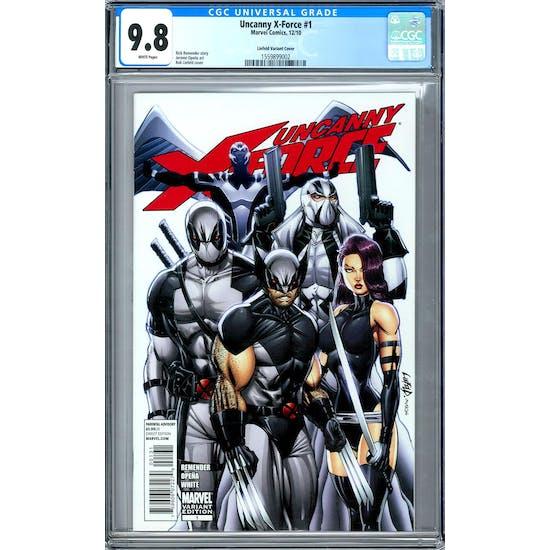 Uncanny X-Force #1 CGC 9.8 (W) Liefeld Variant *1559899002*