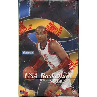 1996/97 Skybox USA Basketball Hobby Box