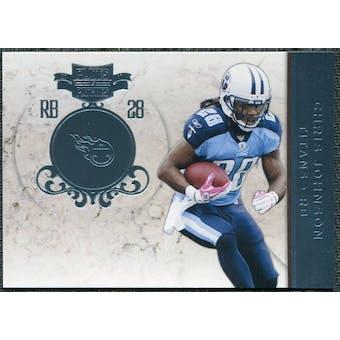 2011 Panini Plates and Patches Platinum #76 Chris Johnson /10