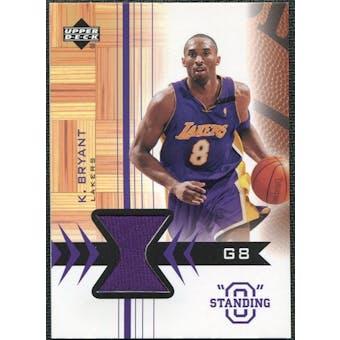 2003/04 Upper Deck Standing O Swatches #KBPH Kobe Bryant