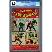 Amazing Spider-Man #4 CGC 6.0 (C-OW) *1564772002*