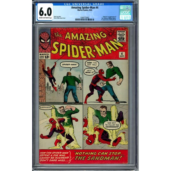 Amazing Spider-Man #4 CGC 6.0 (C-OW) *1564772002*