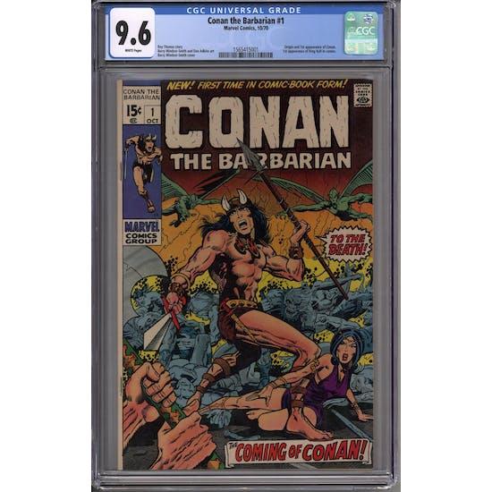 Conan the Barbarian #1 CGC 9.6 (W) *1565415001*