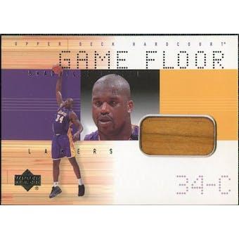 2000/01 Upper Deck Hardcourt Game Floor #SOF Shaquille O'Neal