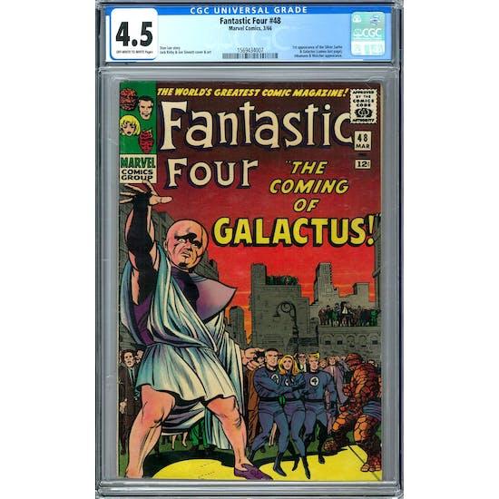 Fantastic Four #48 CGC 4.5 (OW-W) *1569434007*