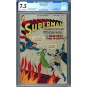 Superman #76 CGC 7.5 (OW-W) *1570014002*