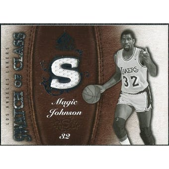 2007/08 Upper Deck SP Game Used Swatch of Class #SCMA Magic Johnson