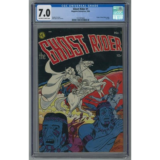Ghost Rider #1 CGC 7.0 (OW-W) *1571915002*