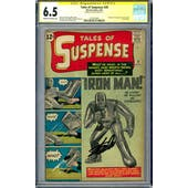 Tales of Suspense #39 CGC 6.5 Stan Lee Signature Series (C-OW) *1575259001*