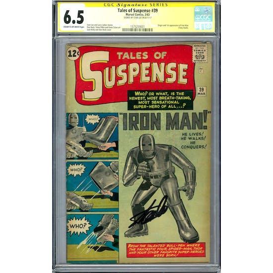 Tales of Suspense #39 CGC 6.5 Stan Lee Signature Series (C-OW) *1575259001*
