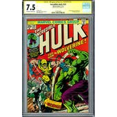 Incredible Hulk #181 CGC 7.5 Stan Lee Signature Series (W) *1575259003*