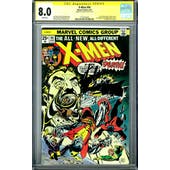 X-Men #94 CGC 8.0 Signature Series (W) *1575276005*