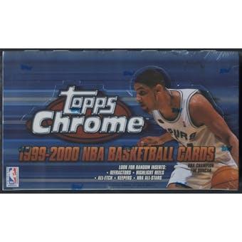 1999/00 Topps Chrome Basketball 24-Pack Box