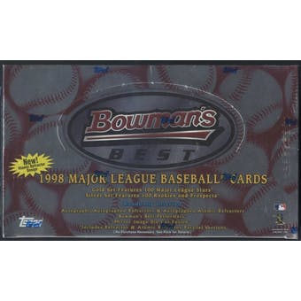 1998 Bowman's Best Baseball 24-Pack Retail Box