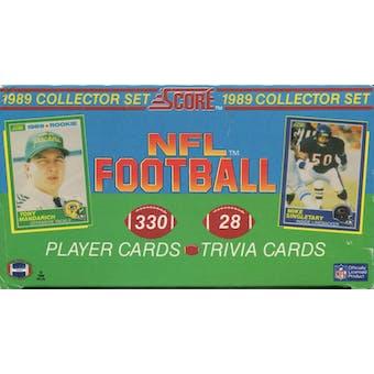 1989 Score Football Factory Set
