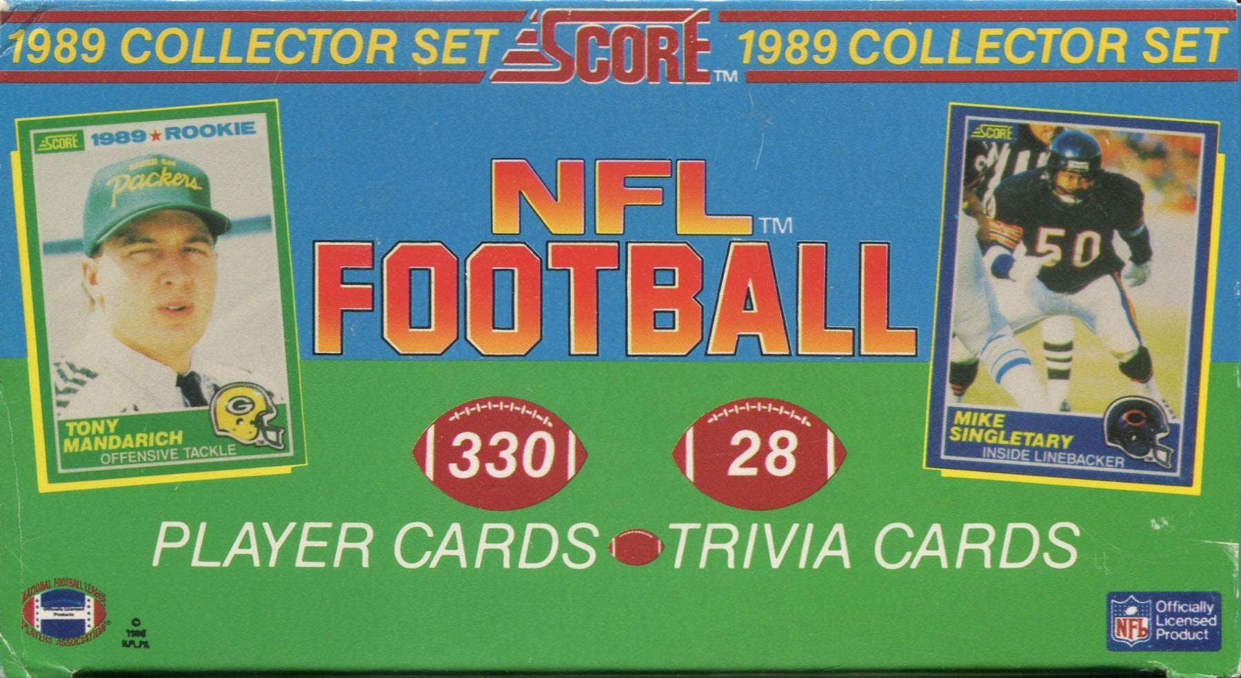 1989 Score Football Factory Set Da Card World