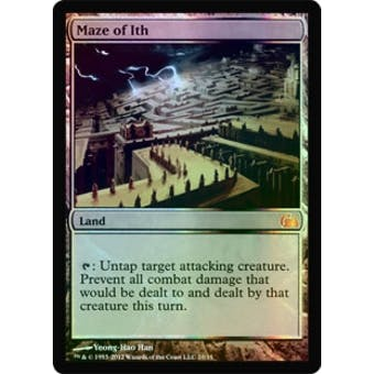 Magic the Gathering From the Vault: Realms Single Maze of Ith Foil NEAR MINT (NM)