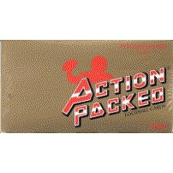 1990 Action Packed Rookie Update Football Wax Box