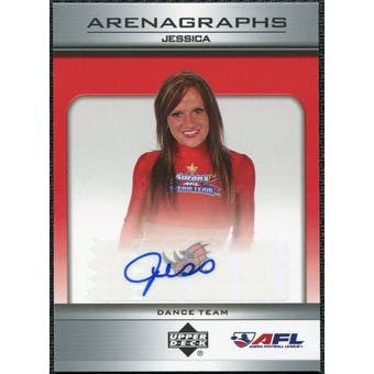 2006 Upper Deck AFL Arenagraphs #DJS Dancer: Jessica Autograph