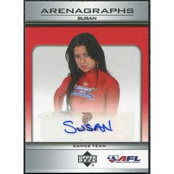 2006 Upper Deck AFL Arenagraphs #DSU Dancer: Susan Autograph