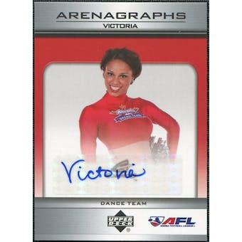2006 Upper Deck AFL Arenagraphs #DVI Dancer: Victoria Autograph