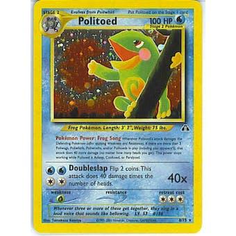 Pokemon Neo Discovery Single Politoed 8/75