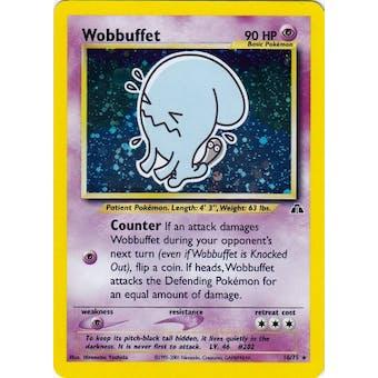 Pokemon Neo Discovery Single Wobbuffet 16/75