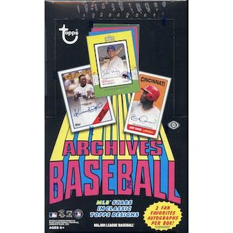 2013 Topps Archives Baseball Hobby Box