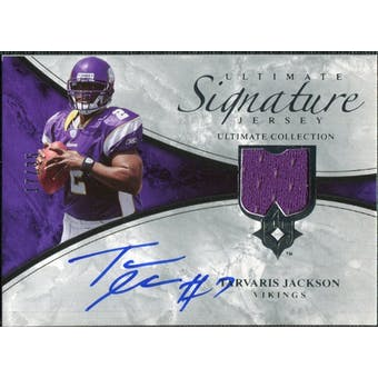 2006 Upper Deck Ultimate Collection Game Jersey Autographs #ULTAD Tarvaris Jackson Autograph /35