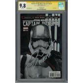 Journey to Star Wars: The Last Jedi #1 CGC 9.8 (W) Signature Series Gwendoline Christie *1599342002*