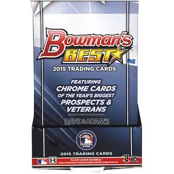 2015 Bowman's Best Baseball Hobby Box