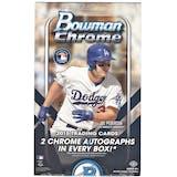 2015 Bowman Chrome Baseball Hobby Box