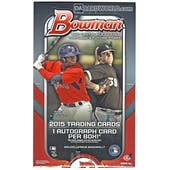 2015 Bowman Baseball Hobby Box