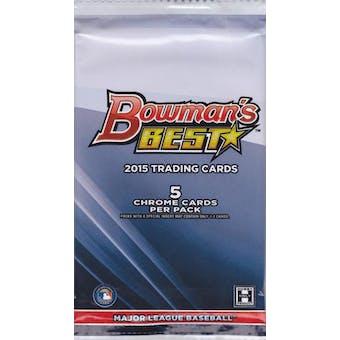 2015 Bowman's Best Baseball Hobby Pack