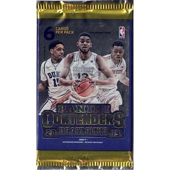2015/16 Panini Contenders Draft Picks Basketball Blaster Pack (Lot of 6)