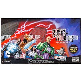 DC Comics Super-Villains Trading Cards Box (Cryptozoic 2015)