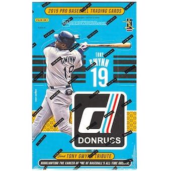 2015 Panini Donruss Baseball Hobby Box