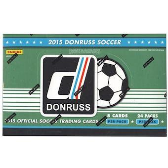 2015 Panini Donruss Soccer Hobby Box