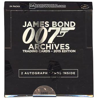 James Bond Archives Trading Cards Box (Rittenhouse 2015)