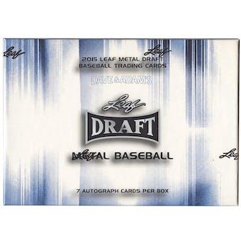 2015 Leaf Metal Baseball Hobby Box