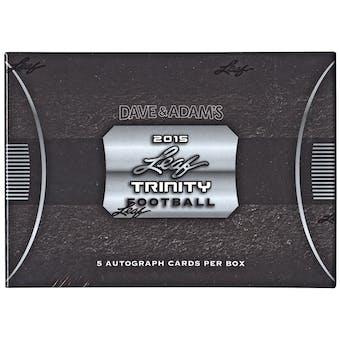2015 Leaf Trinity Football Hobby Box