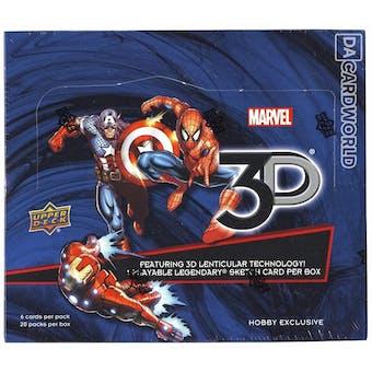 Marvel 3D Hobby Box (Upper Deck 2015)
