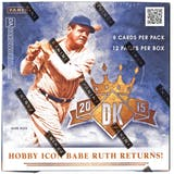 2015 Panini Diamond Kings Baseball Hobby Box