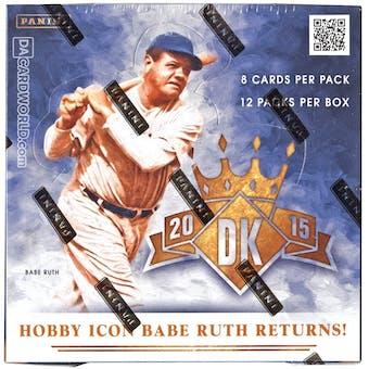2015 Panini Diamond Kings Baseball Hobby Box