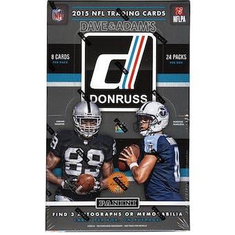2015 Panini Donruss Football Hobby Box