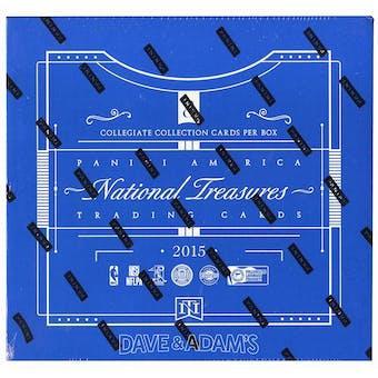 2015/16 Panini National Treasures Multisport Hobby Box