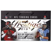 2015 Panini Prestige Football Hobby Box