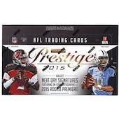 2015 Panini Prestige Football Hobby Box