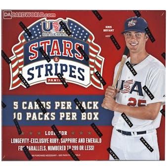 2015 Panini USA Stars & Stripes Longevity Baseball Box