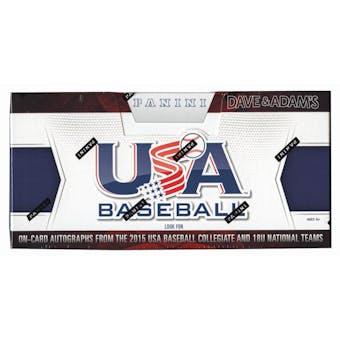 2015 Panini USA Baseball Hobby Box (Set)
